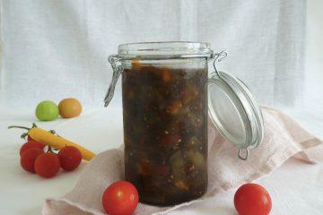 chutney med grønne tomater