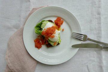 avocadomad med stenbiderrogn