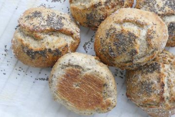 grovboller med chiafrø