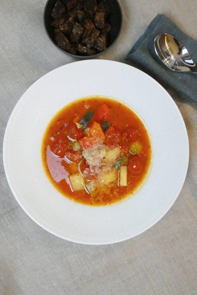 hurtig tomatsuppe