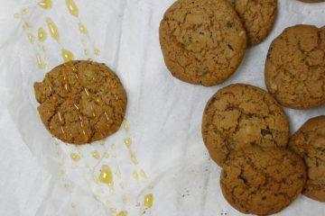 småkager med honning