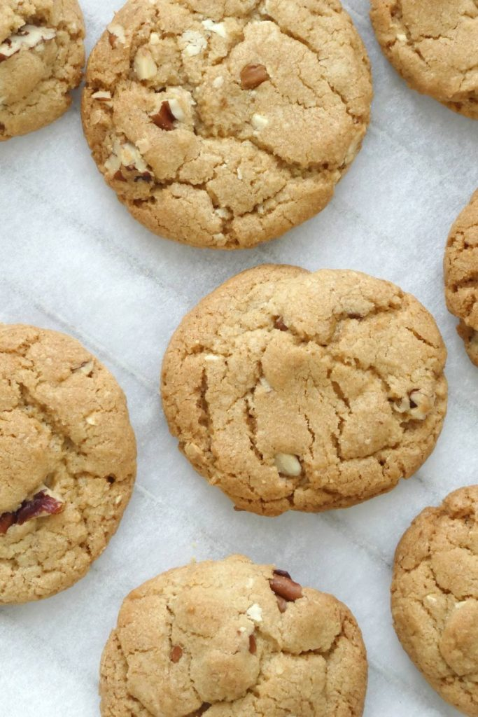 amerikanske pecancookies