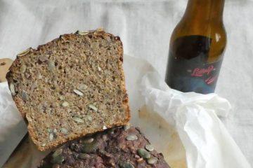 rugbrød med øl og kærnemælk