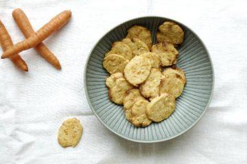 småkager med gulerod